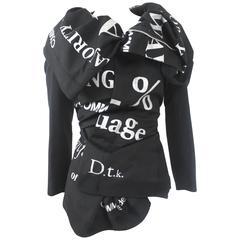 Comme des Garcons Printed Jacket
