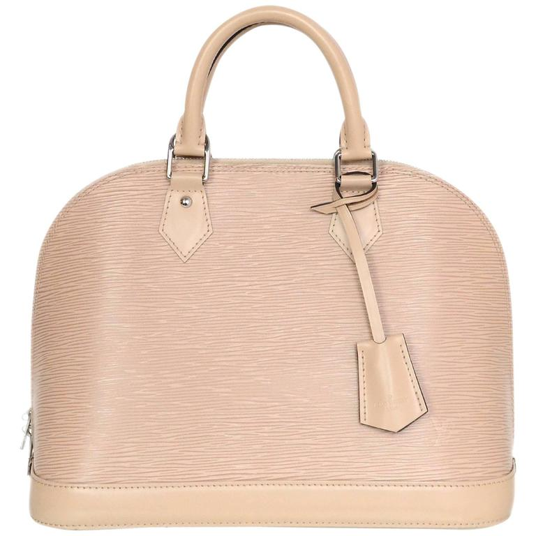 Louis Vuitton Nude Dune Epi Leather Alma PM Bag 1