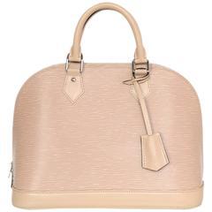 Louis Vuitton Nude Dune Epi Leather Alma PM Bag