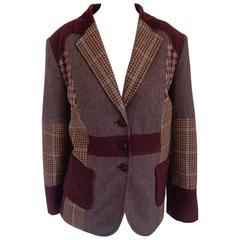 Vintage multicolour Wool Jacket