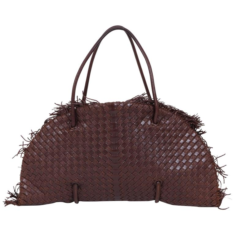 f1ad286686 Bottega Veneta Brown Limited Edition Tote Bag For Sale at 1stdibs