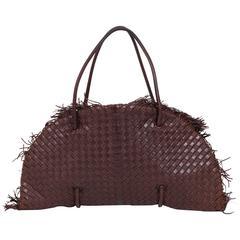 Bottega Veneta Brown Limited Edition Tote Bag