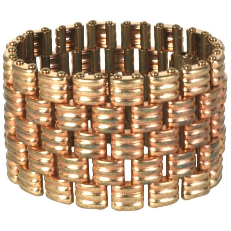 Kreisler Retro Link Bracelet For Sale