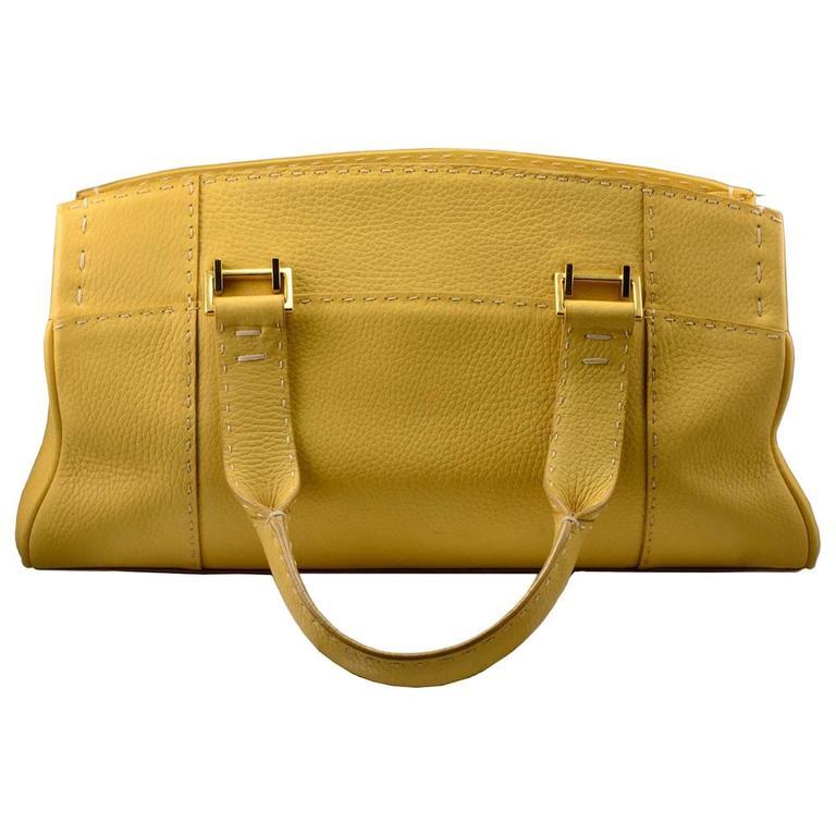 VBH Sunshine Yellow Day Bag