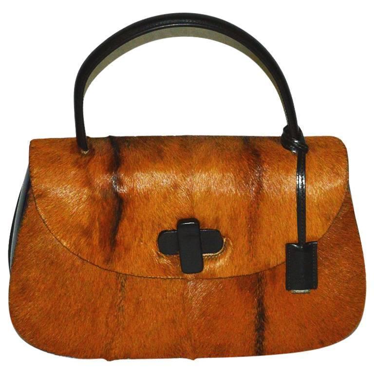 Gucci limited edition Fur Bag