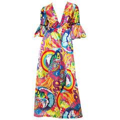 Psychedelic Hawaiian Dress