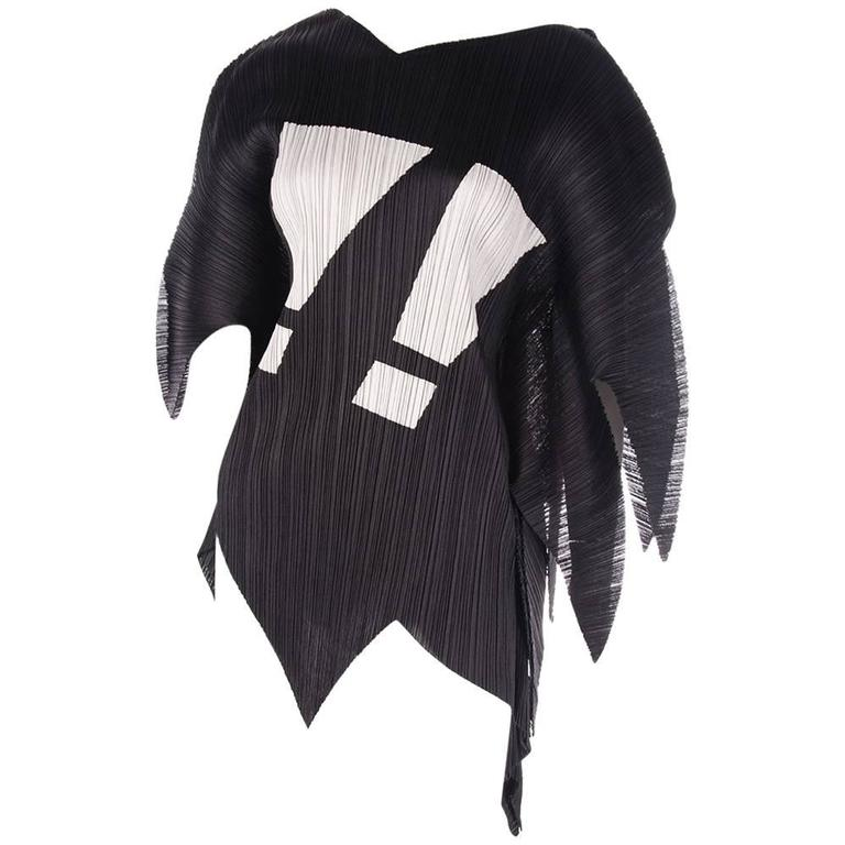 Issey Miyake Pleats Please Rare Exclamation Mark Top 1