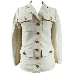"""Yves Saint Laurent """"Saharienne"""" Haute Couture Trousers Suit, Circa 1968 / 1970"""