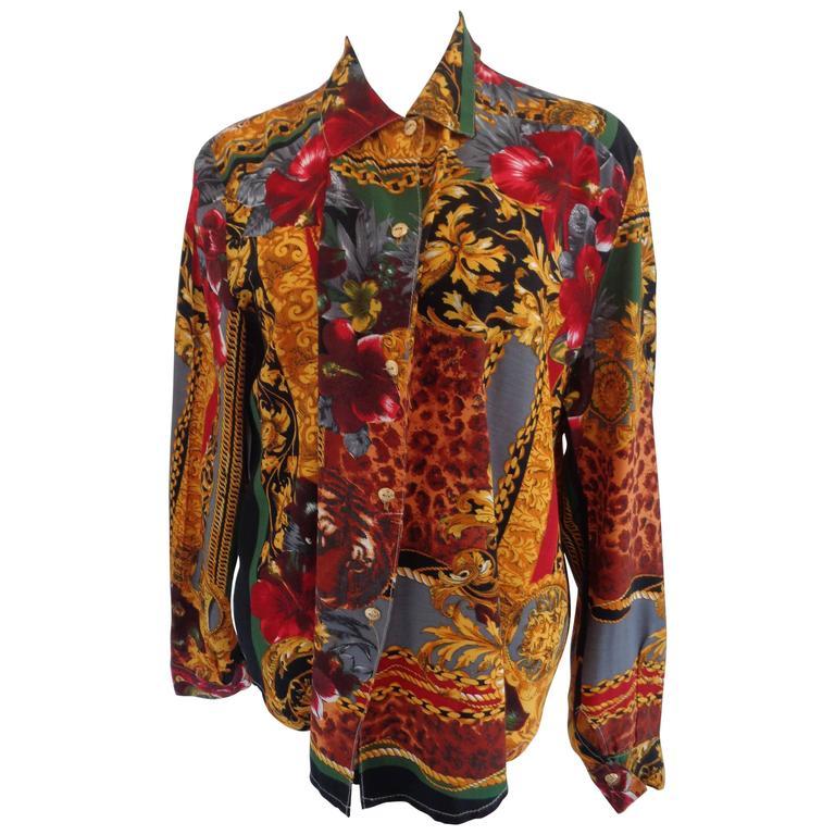 1970s Vintage multicolour Shirt