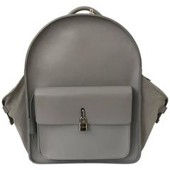 Buscemi Large Aero Gray Backpack New