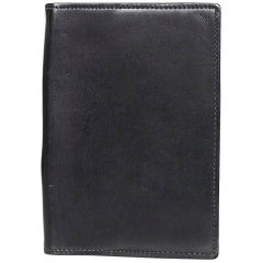 Hermes Black Leather Agenda Cover