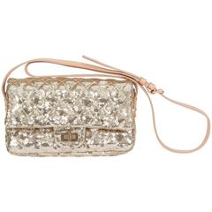 Chanel Gold Sequins Cross Body Bag