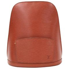 Vintage Louis Vuitton Gobelins Brown Kenyan Fawn Epi Leather Large Backpack Bag