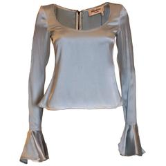 Yves Saint Laurent Silk Top