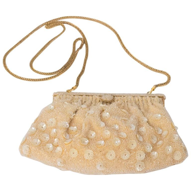 60s Beaded Evening Purse