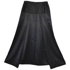 Shirin Guild Black Silk Harem pants