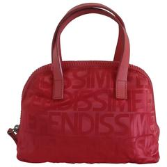Fendi Accessories Pink Monogram Shoulder Bag