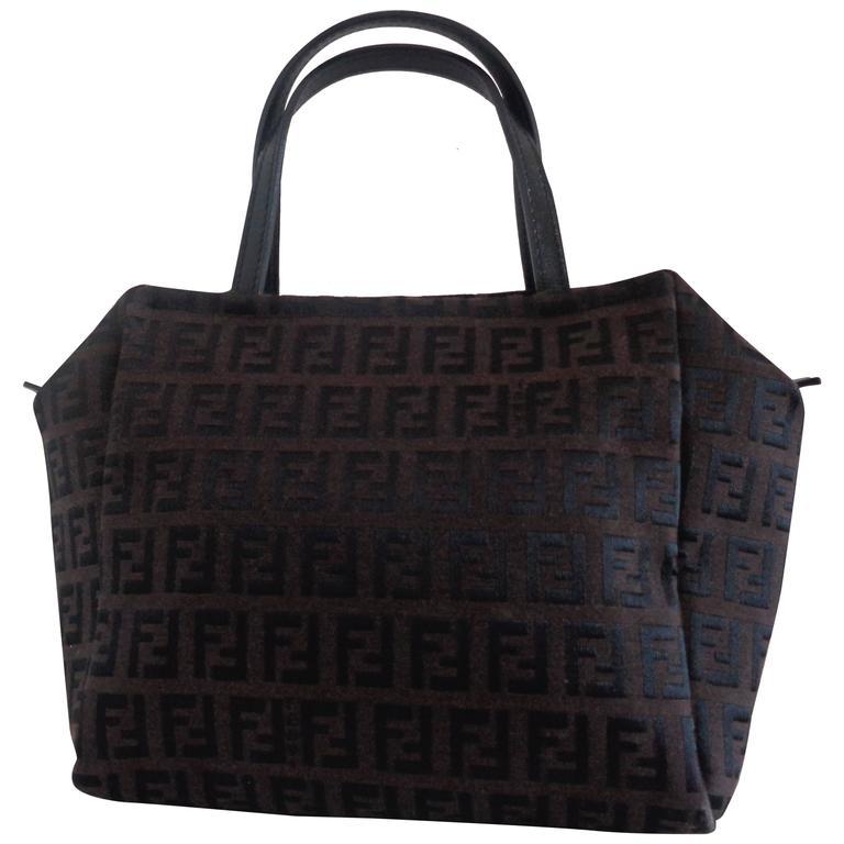 Fendi Brown Monogram Small Bag