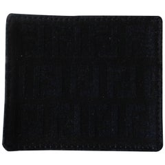 Fendi monogram wallet coin Case