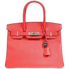 Hermès Rose Jaipur Epsom Leather 30 cm Birkin with PHW