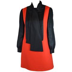 Geoffrey Beene Tuxedo Dress