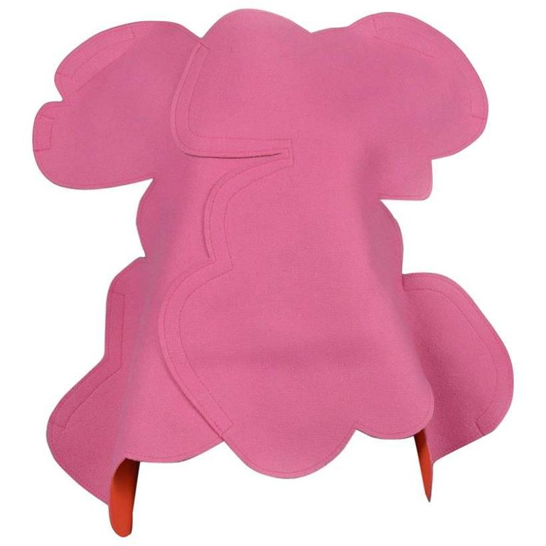 Comme des GArcons Pink 2D Flat Top AW 2012 For Sale