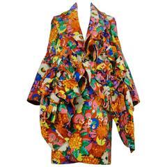 Comme des Garcons Floral Coat AW 2013