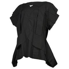 Comme des Garcons Black Cut Out Dress SS 2014