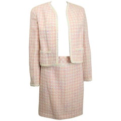 Chanel Multi Coloured Tweed Jacket and Skirt Ensembles