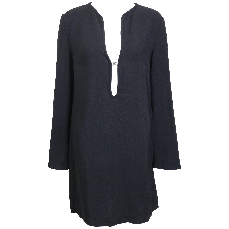 Gucci by Tom Ford Black Tunic Dress