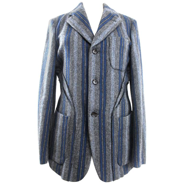 best sneakers af4c5 7ee9e Comme des Garcons Homme Plus 2003 Collection Wool Jacket For Sale