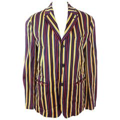 Homme Comme des Garcons 2004 Collection Striped Jacket