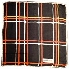 Rare 1960's Lanvin Silk Scarf