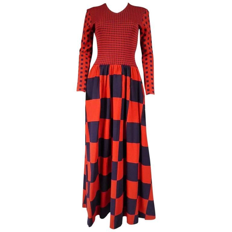 Rudi Gernreich Couture Dress