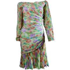 Emanuel Ungaro Haute Couture Kleid Nummeriert 861