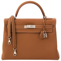 Hermes Kelly 32 Gold PHW
