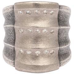 Atelier Zobel Mixed Metal and Diamond Ring