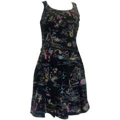Moschino Jeans Cotton Print Dress