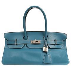 Hermès Blue Jean Togo Leather JPG Birkin with PHW