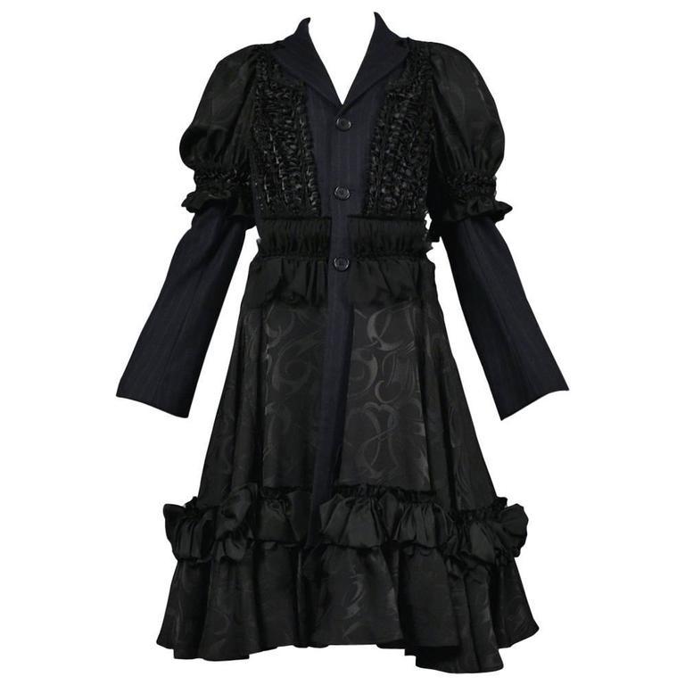 Comme des Garcons Black Fancy Coat 2008