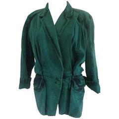 1970s Pancaldi Green Jacket