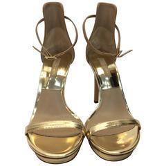 Michael Kors Gold Strap Heels