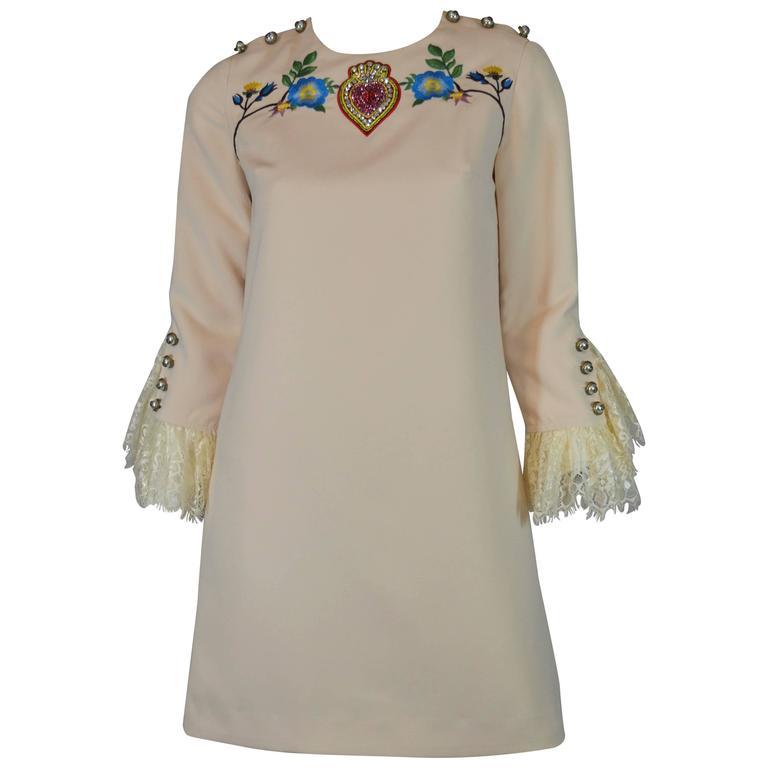 Gucci Embellished Dress 2016