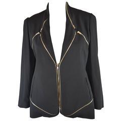 Hussein Chalayan Zip 2-way Jacket