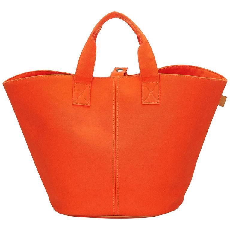 Hermès Orange Panier de Plage 1