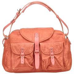 Balenciaga Pink Leather Shoulder Bag