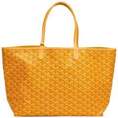 2010s Goyard Yellow Coated Canvas St Louis PM
