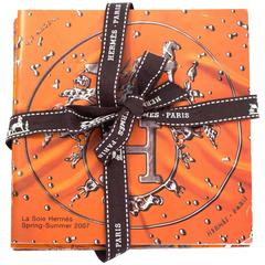 Hermes Carre Scarf Booklets- Set of Four