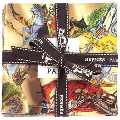 Hermes Set of Six Scarf Booklets w/ Shopping Bag