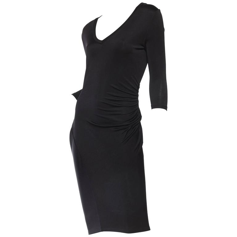 Alexander McQueen McQ Slinky Jersey Dress